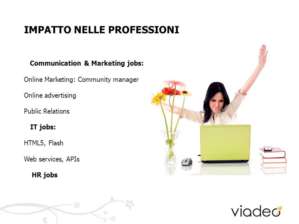 IMPATTO NEL MERCATO DEL LAVORO: no network, no job.