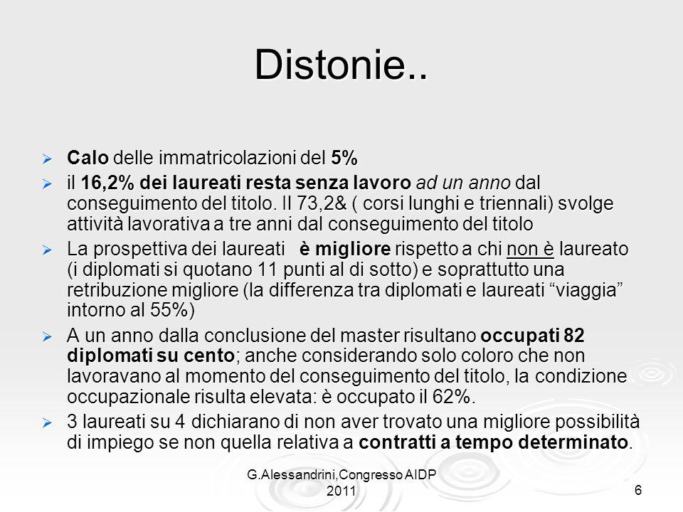 G.Alessandrini,Congresso AIDP 2011 7 2.Come intendere le competenze ?