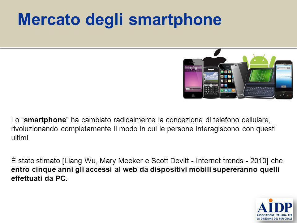Lo smartphone ha cambiato radicalmente la concezione di telefono cellulare, rivoluzionando completamente il modo in cui le persone interagiscono con q