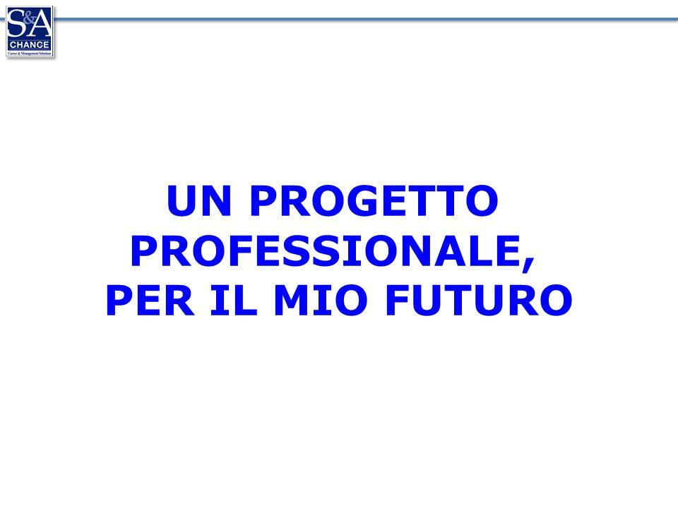 UN PROGETTO PROFESSIONALE, PER IL MIO FUTURO