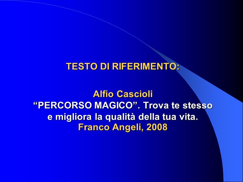 TESTO DI RIFERIMENTO: Alfio Cascioli PERCORSO MAGICO.