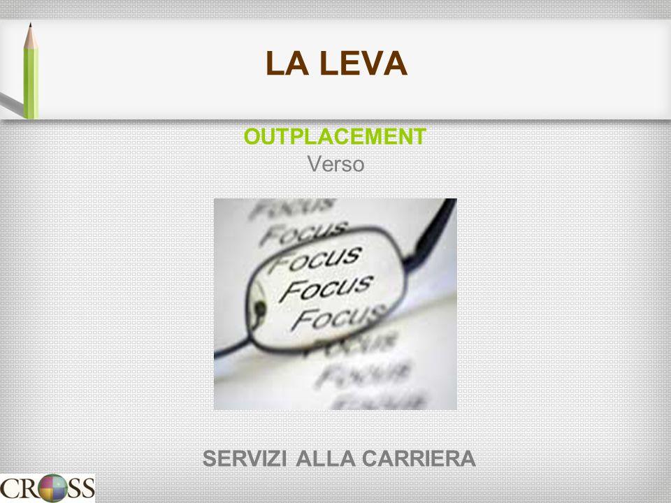 LA LEVA OUTPLACEMENT Verso SERVIZI ALLA CARRIERA