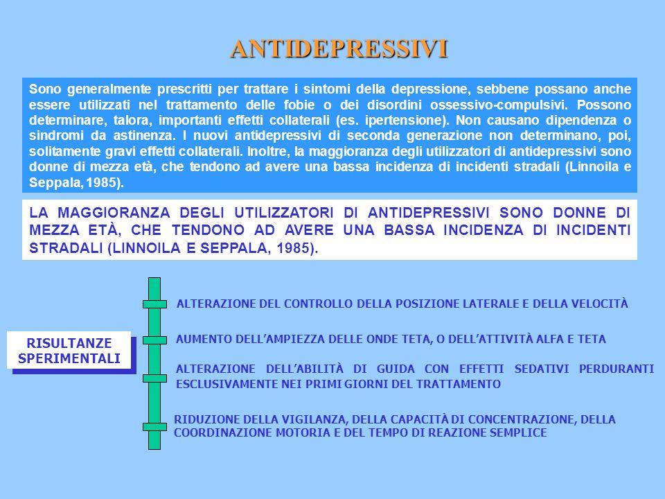 DEVEAUX ET AL (1996) HANNO CONDOTTO UNO STUDIO PROSPETTICO SU 103 GUIDATORI E PEDONI FERITI MORTALMENTE IN FRANCIA.