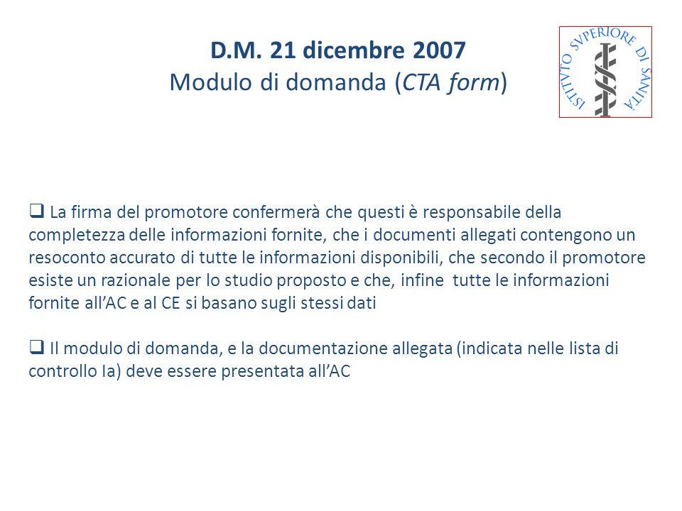 La firma del promotore confermerà che questi è responsabile della completezza delle informazioni fornite, che i documenti allegati contengono un resoc