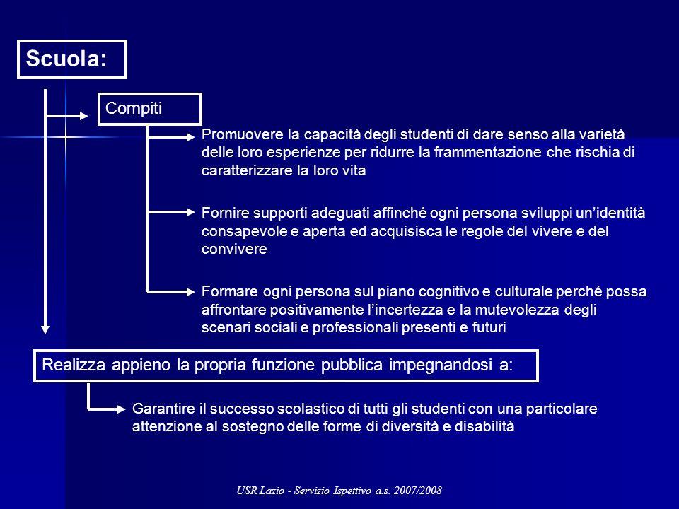 Scuola: Promuovere la capacità degli studenti di dare senso alla varietà delle loro esperienze per ridurre la frammentazione che rischia di caratteriz