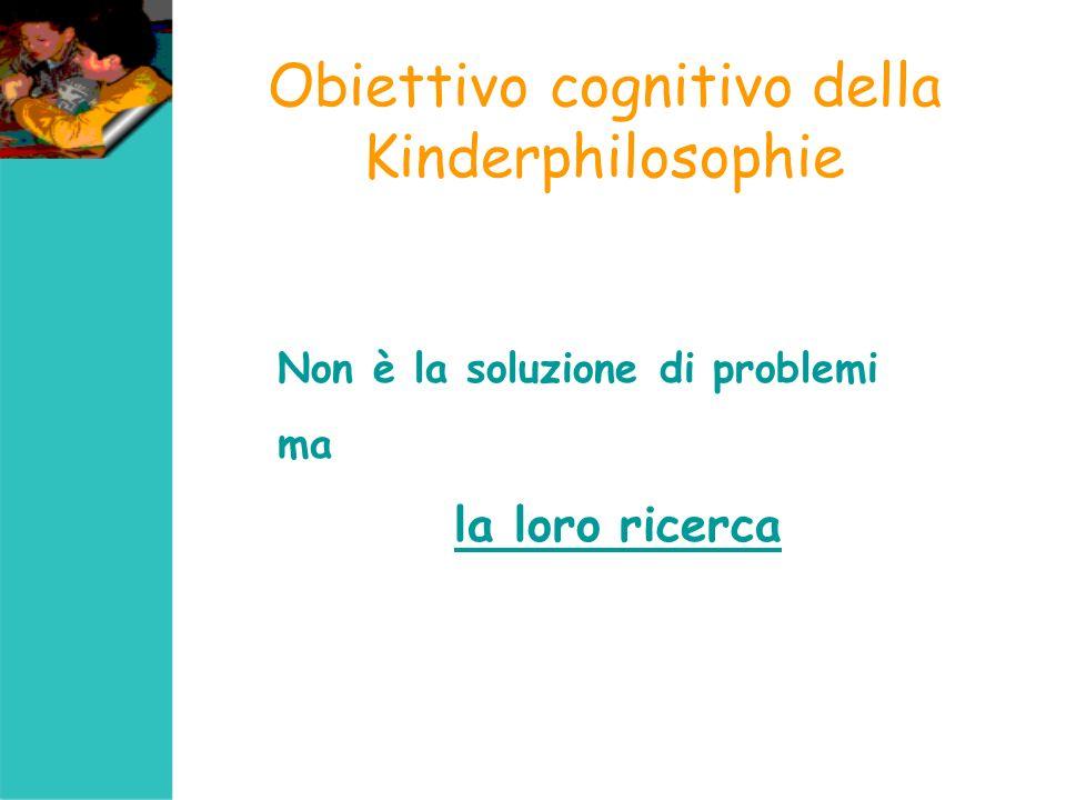 Trasversalità della metodologia Riflettendo sul pensiero i bambini si chiedono il significato di alcuni processi cognitivi acquisendo abilità trasversali