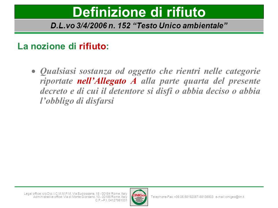 Telephone-Fax: +39.06.68192067-68136903 e-mail:cinigeo@tin.it Legal office: c/o Dip.