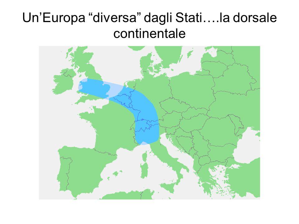 UnEuropa diversa dagli Stati….la dorsale continentale