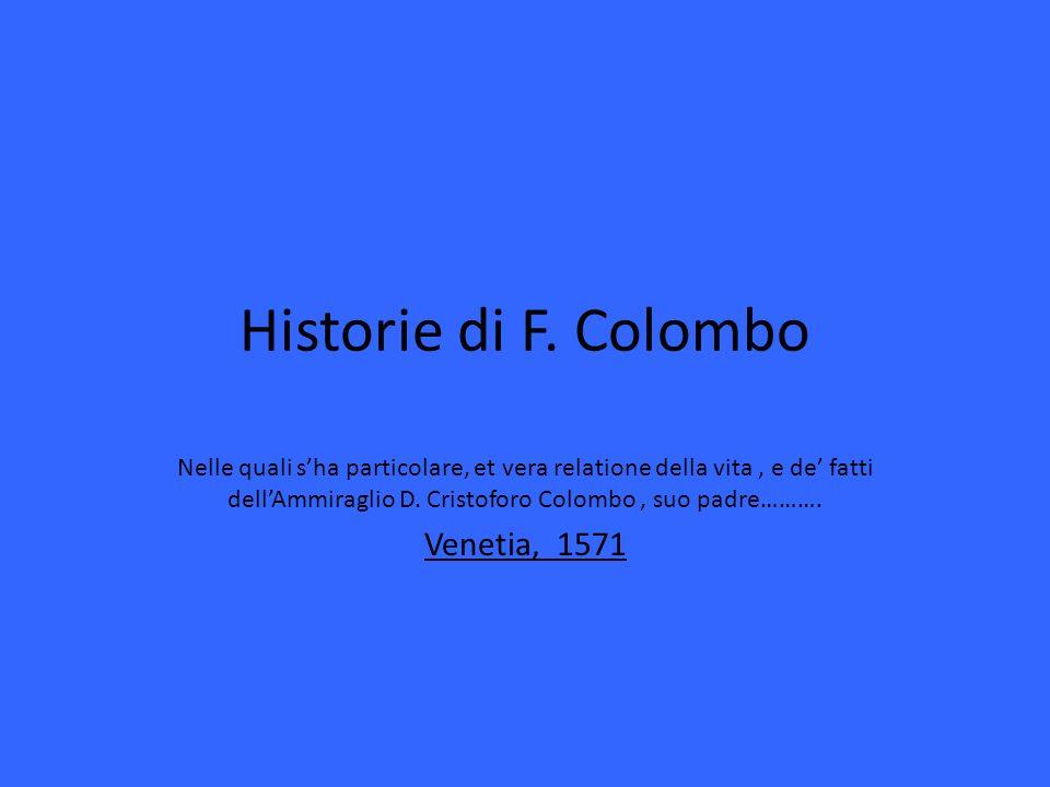 Historie di F.