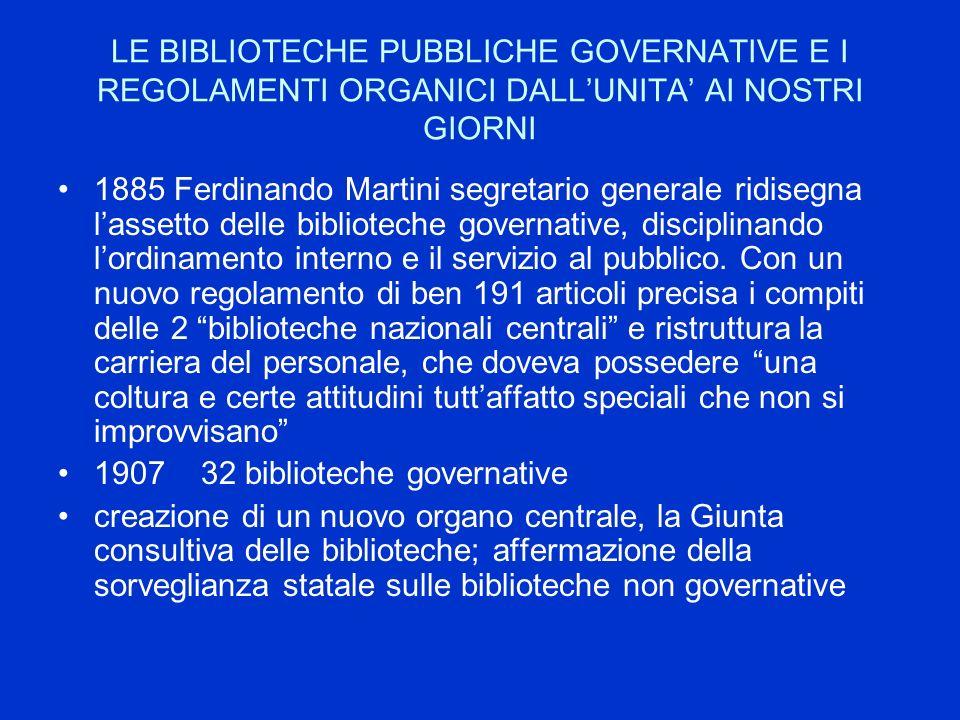 Le leggi Bassanini Legge Bassanini 2 (L.