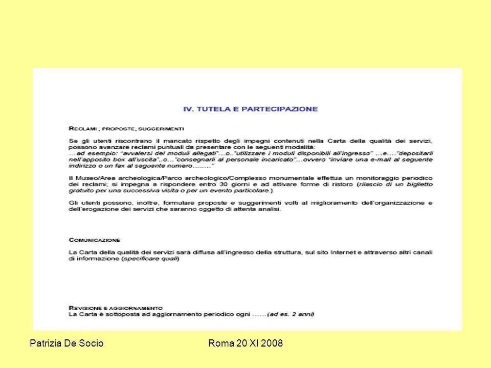 Patrizia De SocioRoma 20 XI 2008
