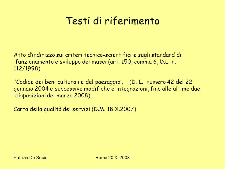 Patrizia De SocioRoma 20 XI 2008 Un interlocutore inesistente .