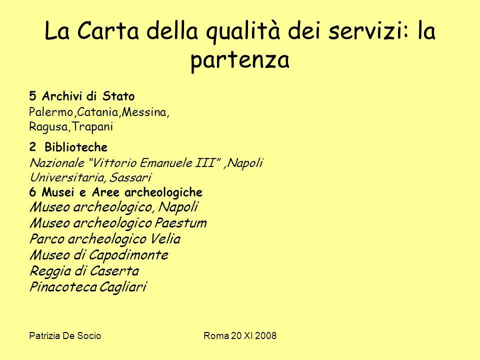 Patrizia De SocioRoma 20 XI 2008 La pedagogia del patrimonio Il Comitato dei Ministri del Consiglio dEuropa, ha concretizzato nel 1998 una lunga serie di riflessioni sul tema dellheritage education emanando una Raccomandazione, indicata con la sigla R (98) 5.