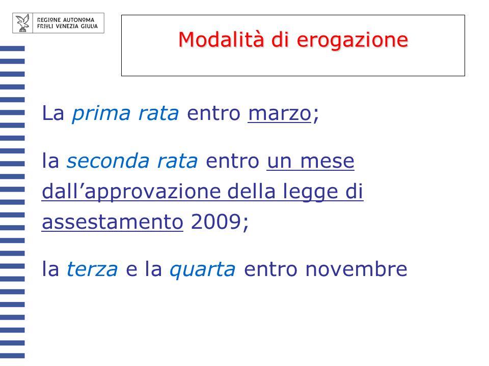 340.971.625 euro (nel 2008 erano 325.993.464,66 euro) Suddiviso in due quote: 1) 221.631.556,25 euro (quota di fiscalità) 2) 119.340.068,75 euro (quota compensativa) Trasferimento ordinario Comuni