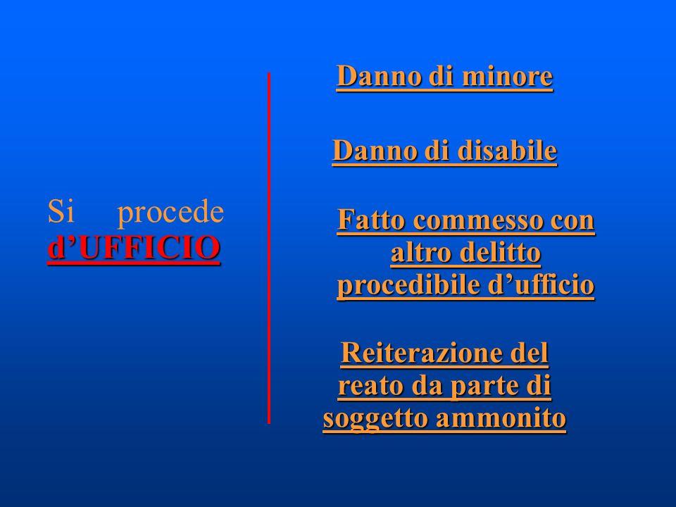 Clausola di riserva (sussidiarietà) (salvo che il fatto non costituisca più grave reato) Maltrattamenti in famiglia (art.