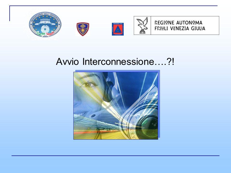 Avvio Interconnessione….?!