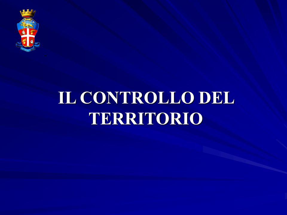 IL CONTROLLO DEL TERRITORIO -