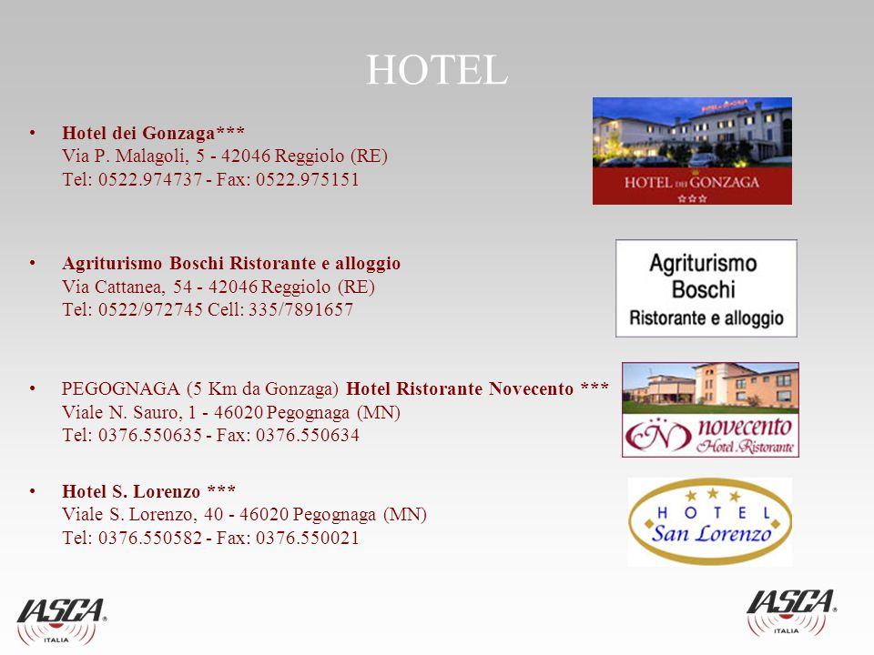 HOTEL Hotel dei Gonzaga*** Via P.