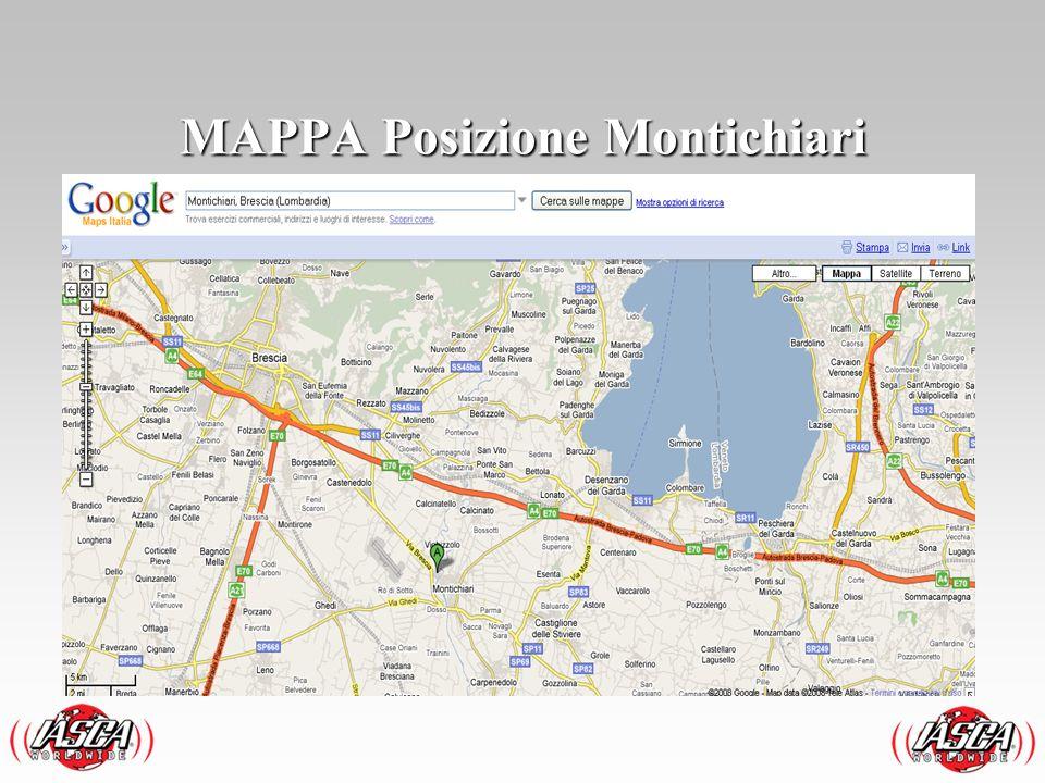 MAPPA Posizione Montichiari