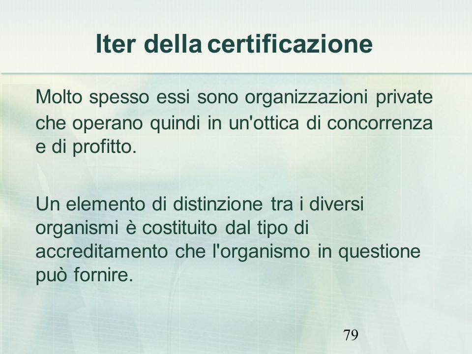 79 Molto spesso essi sono organizzazioni private che operano quindi in un'ottica di concorrenza e di profitto. Un elemento di distinzione tra i divers