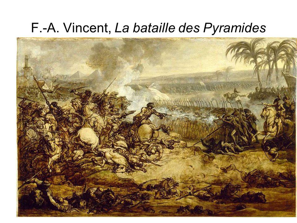 F.-A. Vincent, La bataille des Pyramides