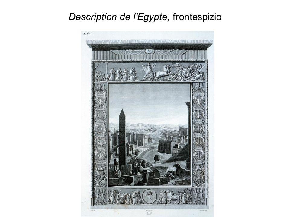La Sfinge in una foto del 1867 e nella Description