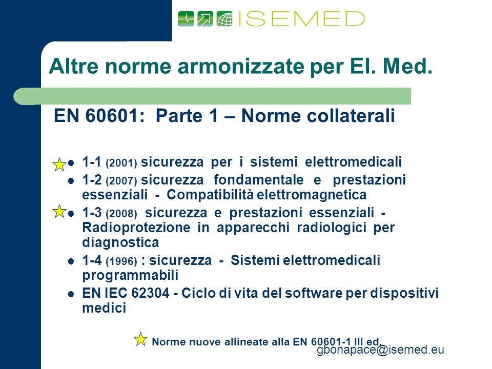 Norme armonizzate dispositivi medici