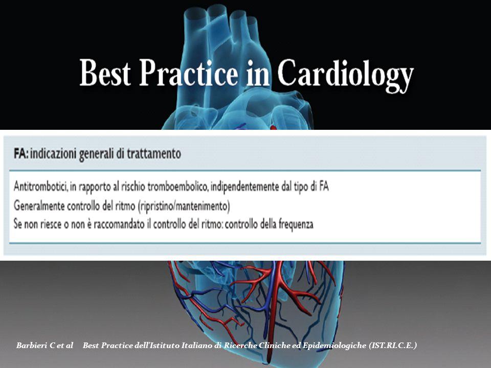 Division of Cardiovascular Diseases - University Hospital of Pisa (Italy) Barbieri C et al Best Practice dell'Istituto Italiano di Ricerche Cliniche e