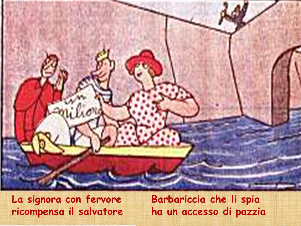 Storie a schema regolare: Inizio fisso: Qui comincia lavventura/ del signor Bonaventura.
