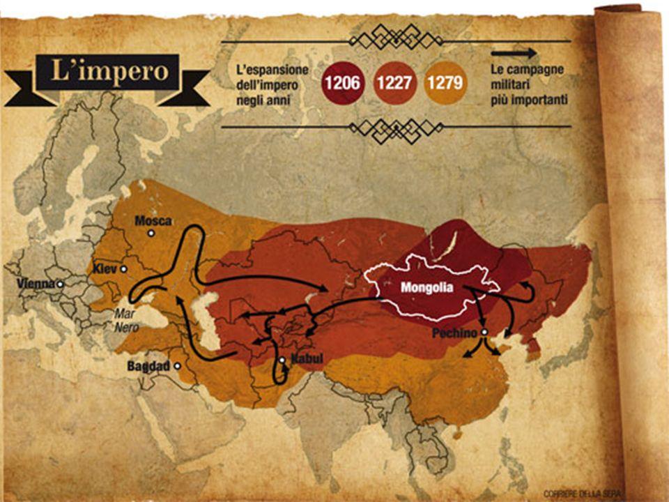 Storia : le origini La Mongolia è stata da sempre abitata da varie tribù nomadi, in perenne conflitto tra loro.
