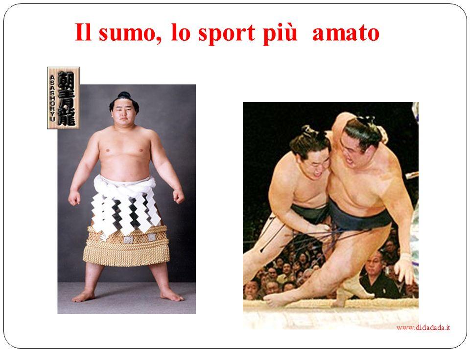 Il sumo, lo sport più amato www.didadada.it