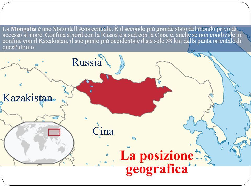 La Mongolia è uno Stato dell Asia centrale.