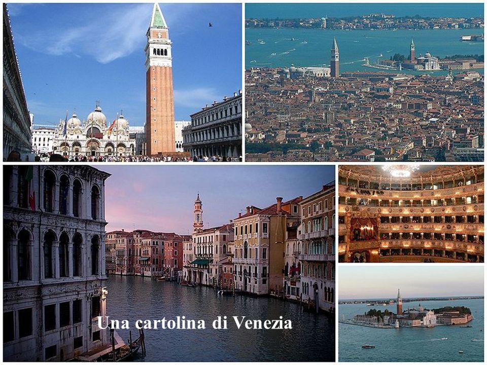 Una cartolina di Venezia