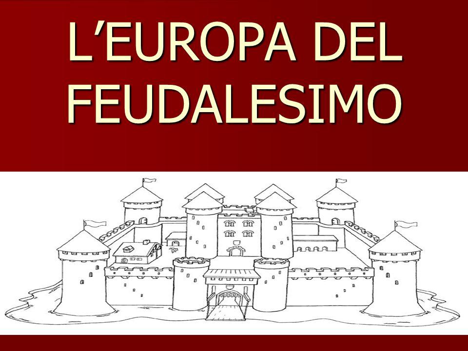 LA DISGREGAZIONE DELLIMPERO DOPO CARLOMAGNO LODOVICO IL PIO 814-840 CARLO IL CALVO FRANCIA LOTARIO ITALIA E LOTARINGIA LUDOVICO IL GERMANICO GERMANIA 843 TRATTATO DI VERDUN