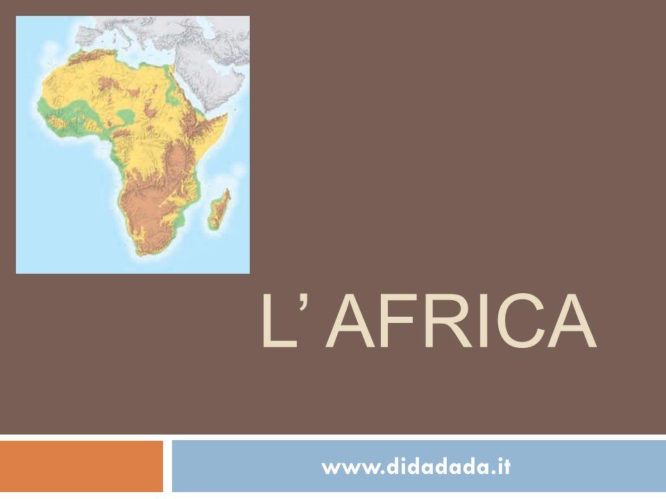 Tropico del cancro Equatore Tropico del capricorno Lafrica è attraversata dallequatore ed quasi tutta compresa nella fascia tropicale.