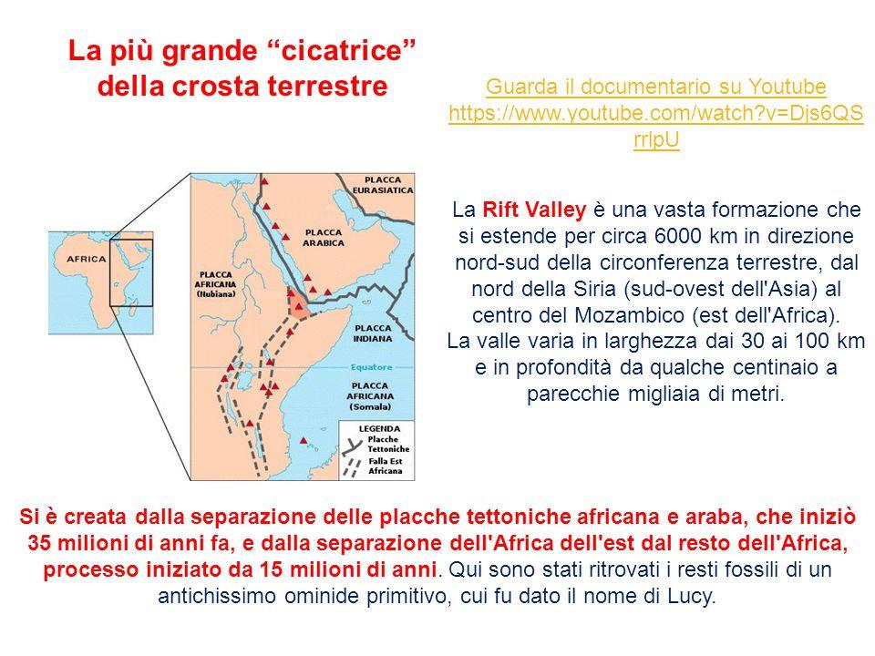 Si è creata dalla separazione delle placche tettoniche africana e araba, che iniziò 35 milioni di anni fa, e dalla separazione dell'Africa dell'est da