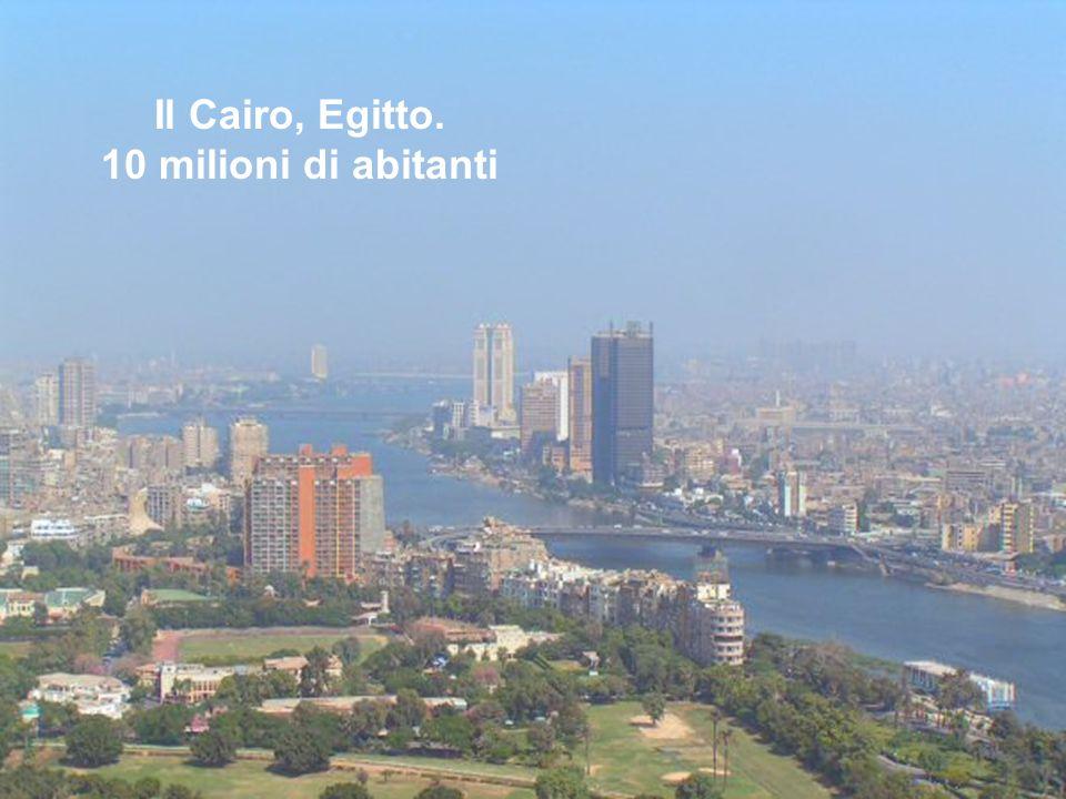 Il Cairo, Egitto. 10 milioni di abitanti