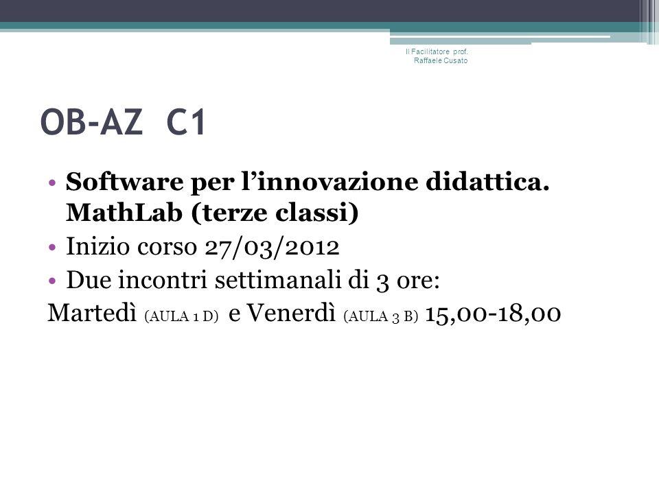 OB-AZ C1 Software per linnovazione didattica.