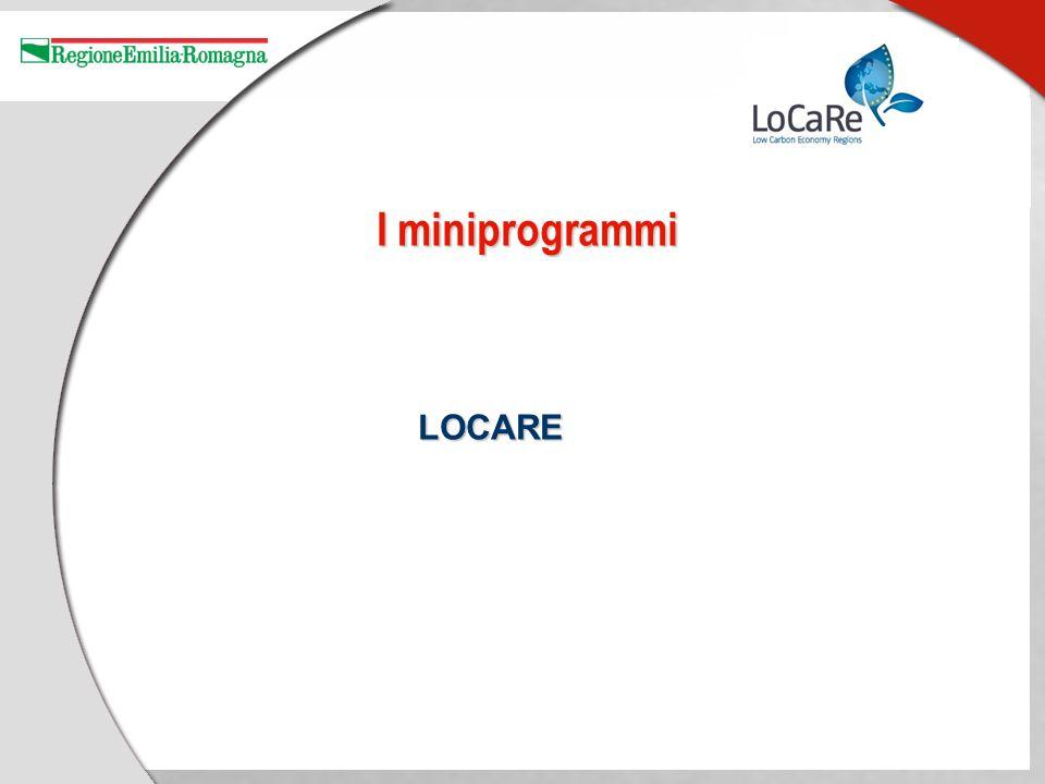 I miniprogrammi LOCARE