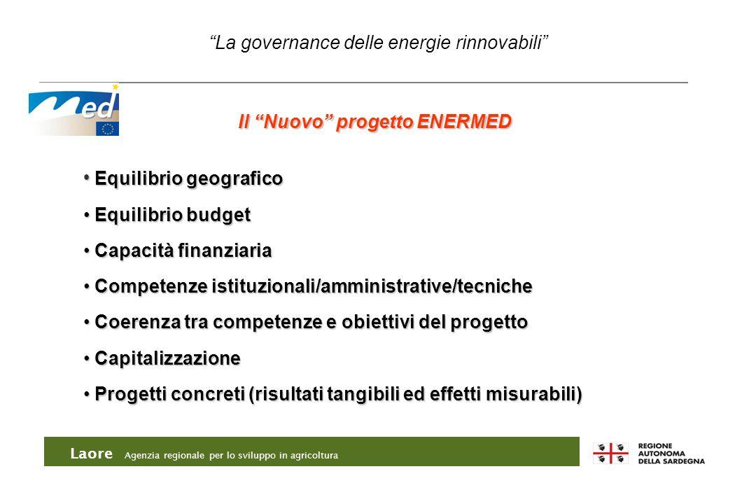 Laore Agenzia regionale per lo sviluppo in agricoltura Equilibrio geografico Equilibrio geografico Equilibrio budget Equilibrio budget Capacità finanz