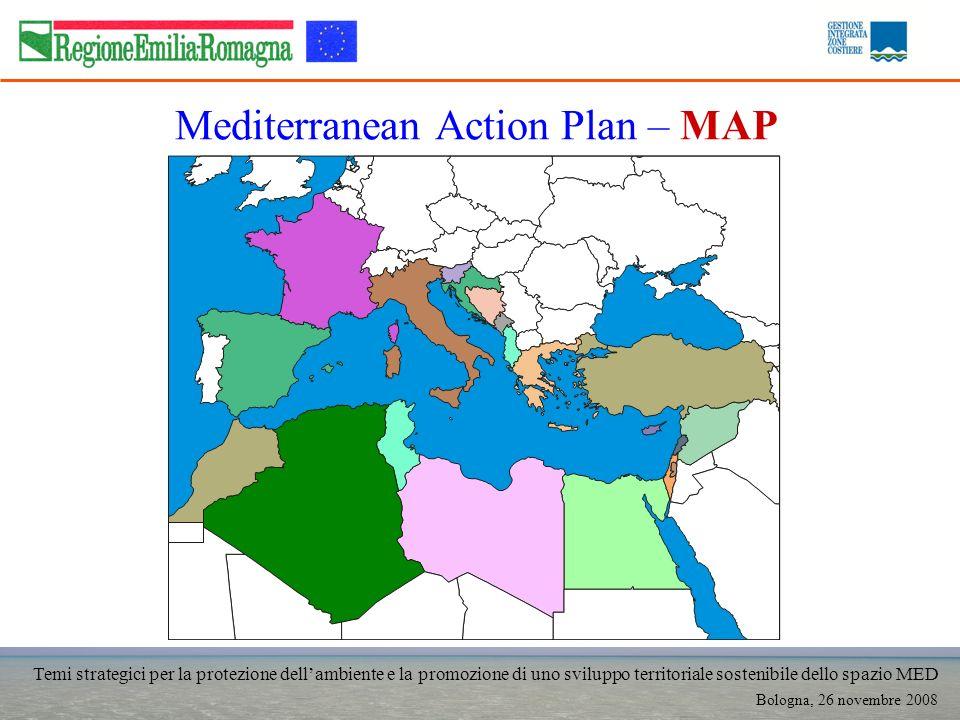 Temi strategici per la protezione dellambiente e la promozione di uno sviluppo territoriale sostenibile dello spazio MED Bologna, 26 novembre 2008 Med