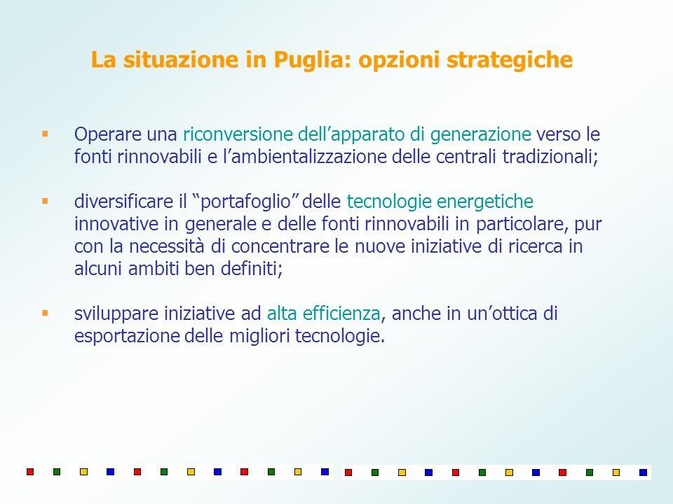 Operare una riconversione dellapparato di generazione verso le fonti rinnovabili e lambientalizzazione delle centrali tradizionali; diversificare il p