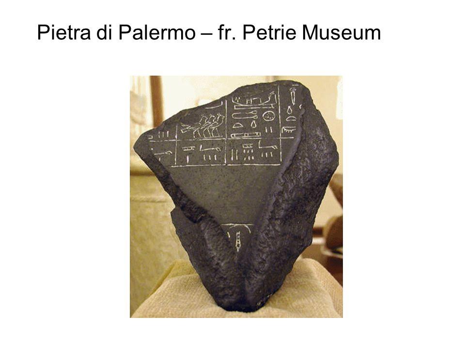 Pietra di Palermo – fr. Petrie Museum