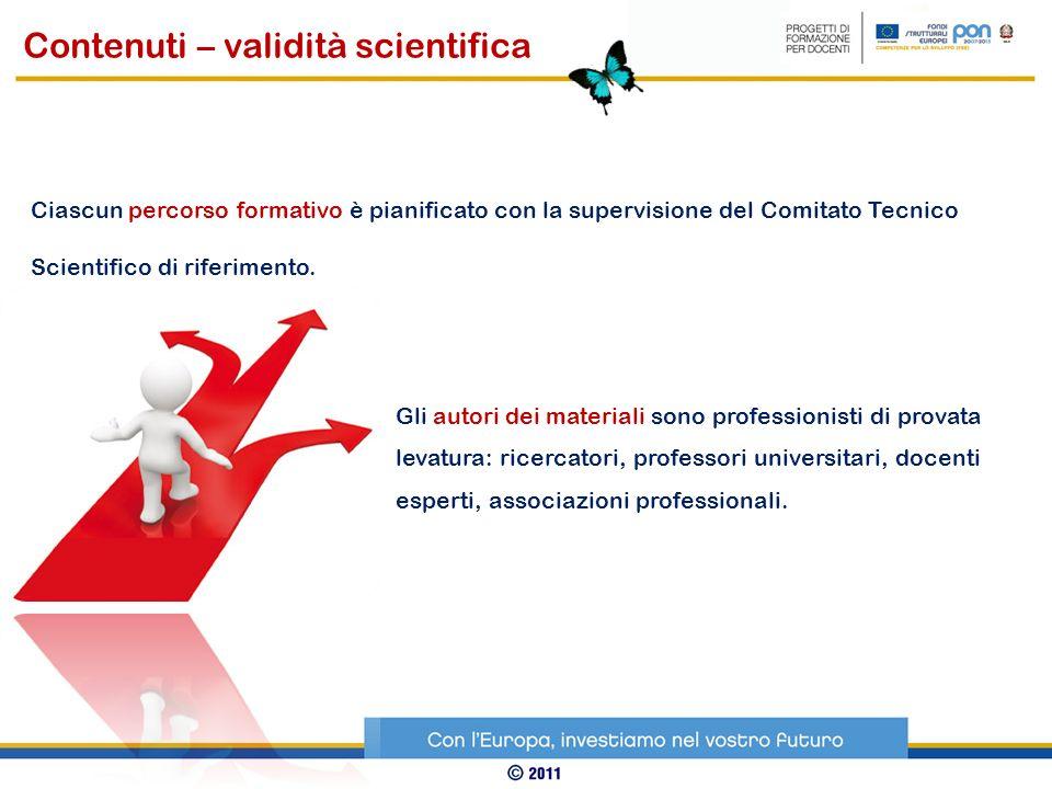 Gli autori dei materiali sono professionisti di provata levatura: ricercatori, professori universitari, docenti esperti, associazioni professionali. C