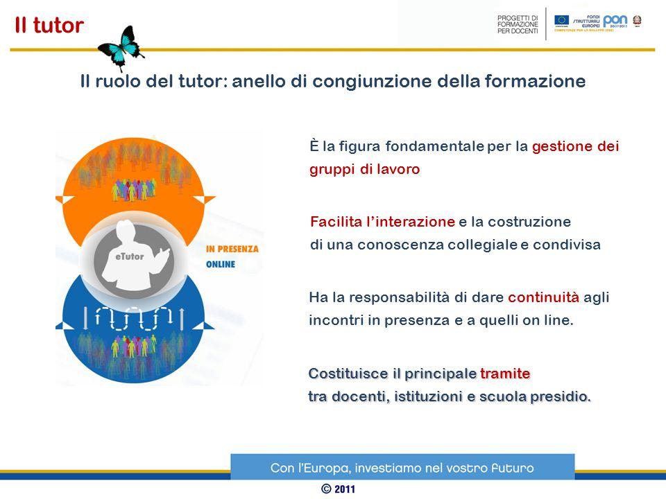 Organizzativa: interviene sullorganizzazione definendo procedure, calendario, gruppi Sociale: è esperto nella gestione del gruppo.