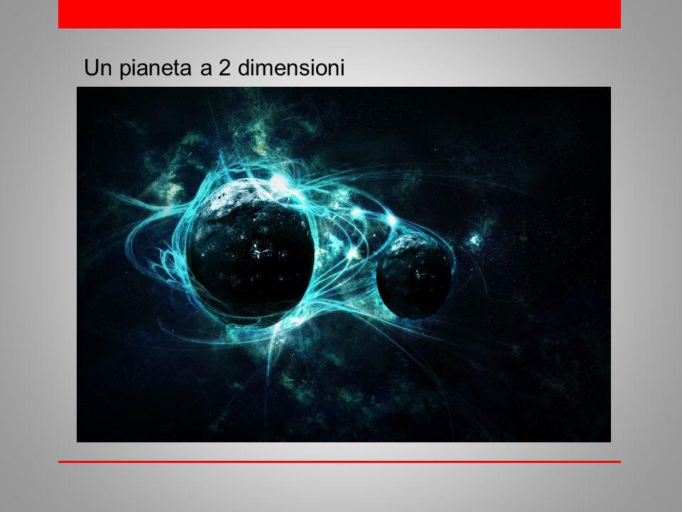 Un pianeta a 2 dimensioni