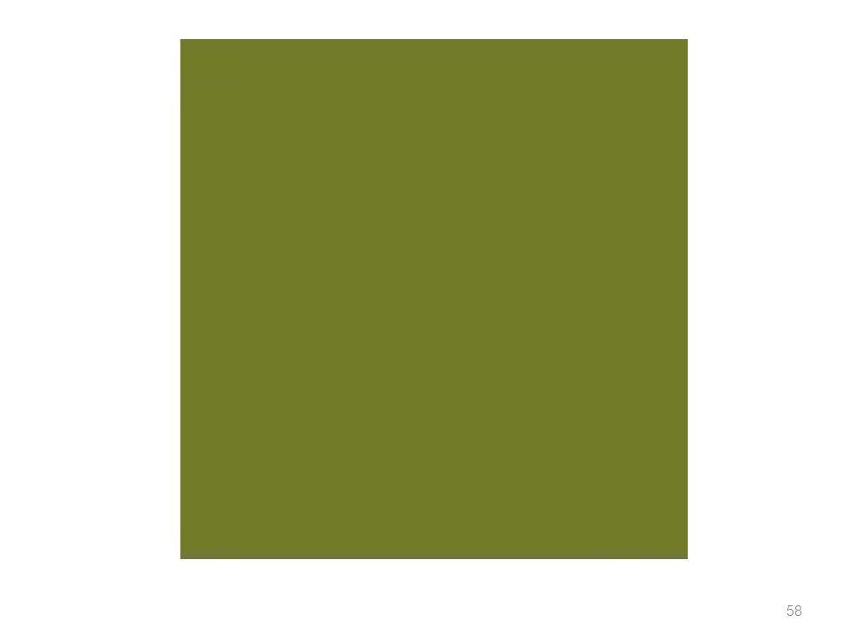 59 INIZIARE UNA RICERCA SUI COLORI Interessi primari Con quali termini sono identificati i colori astratti (ovvero i colori non definiti come proprietà di oggetti o materie).