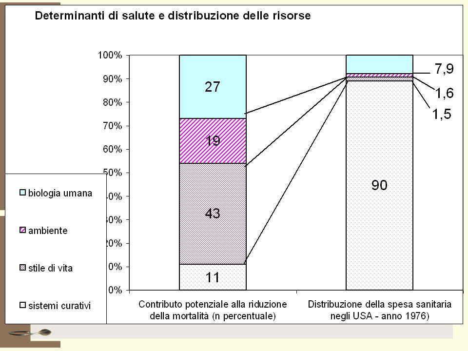 Due o tre considerazioni… Aumento dellobesità e dellinattività fisica Aumento dellinquinamento Aumento dellisolamento sociale…