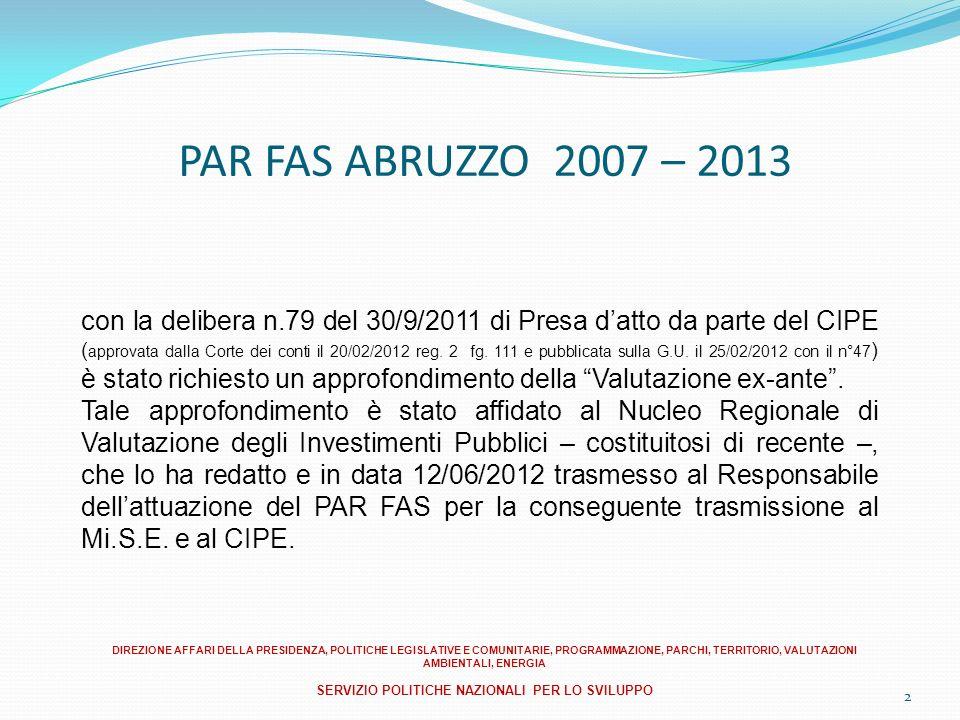 3 FASI DI ATTUAZIONE DELLA GOVERNACE 1) - Comitato di Sorveglianza: Istituzione del CdS (D.G.R.