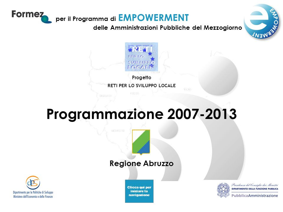 2007-2013: strategie 2007-2013: strategie Materiali 2007-2013 Lisbona e Göteborg Lisbona e Göteborg QSN: il percorso italiano QSN: il percorso italiano Piano Regionale di Sviluppo (PRS) Piano Regionale di Sviluppo (PRS) Documenti di programmazione Documenti di programmazione Sezione tematica Sezione tematica la strategia 2007-2013Abruzzo CREDITI 2 2007-2013: STRATEGIE 1.